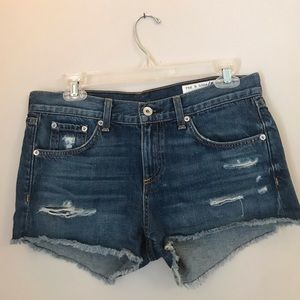 Nordstrom Rag and Bone Jean shorts